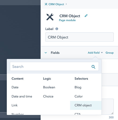 CRM Object