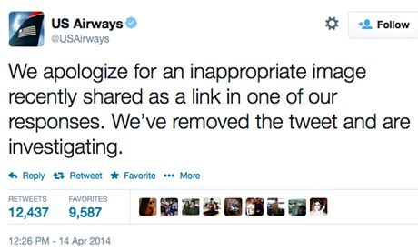 socia media fail US Airways